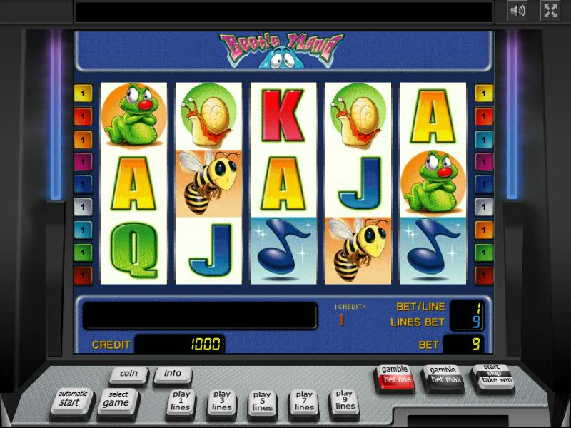 Crazy bugs slot machine online play